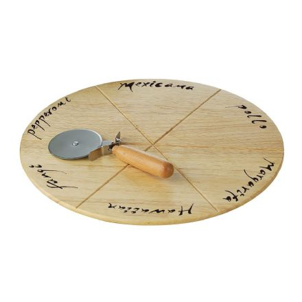 Premier Housewares Pizza Board and Cutter Set